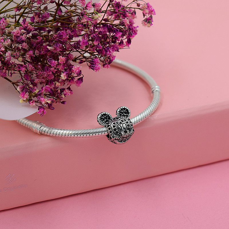 YANXIZAO caliente 925 de plata Europea Charm Beads Fit Pandora Estilo - Bisutería - foto 5