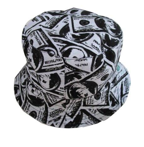 Envío Gratis 2018 nuevo verano hombre moda dólar impreso sombreros pesca  gorras para hombres 9d4963b638f