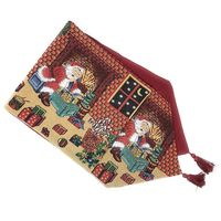 YHYS Last Minute Christmas Preparations Tapestry Table Runners, 13 X 72 inch, 13 x 72, Last Minute Preparations
