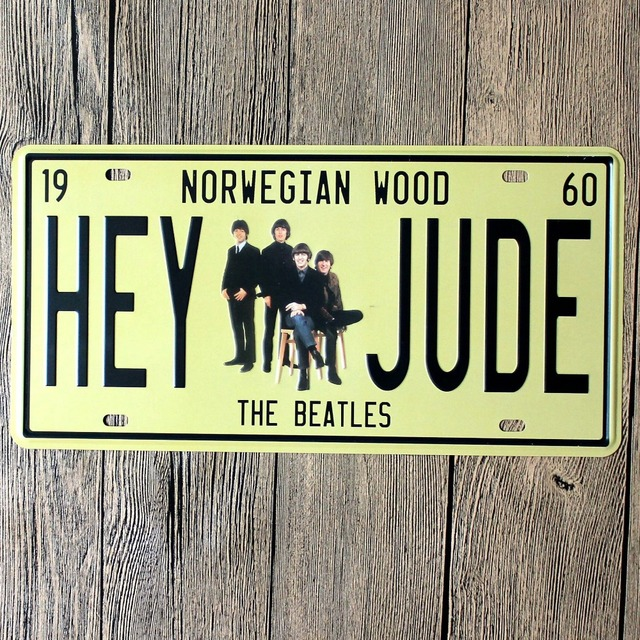 New arrival LOSICOE Vintage license plate \