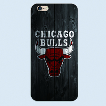 Luxury Phone Cases Jordan Chicago Bulls case for iPhone 5 5s 5C 6 6S Plus 4S Style Protective Back plastic cover case
