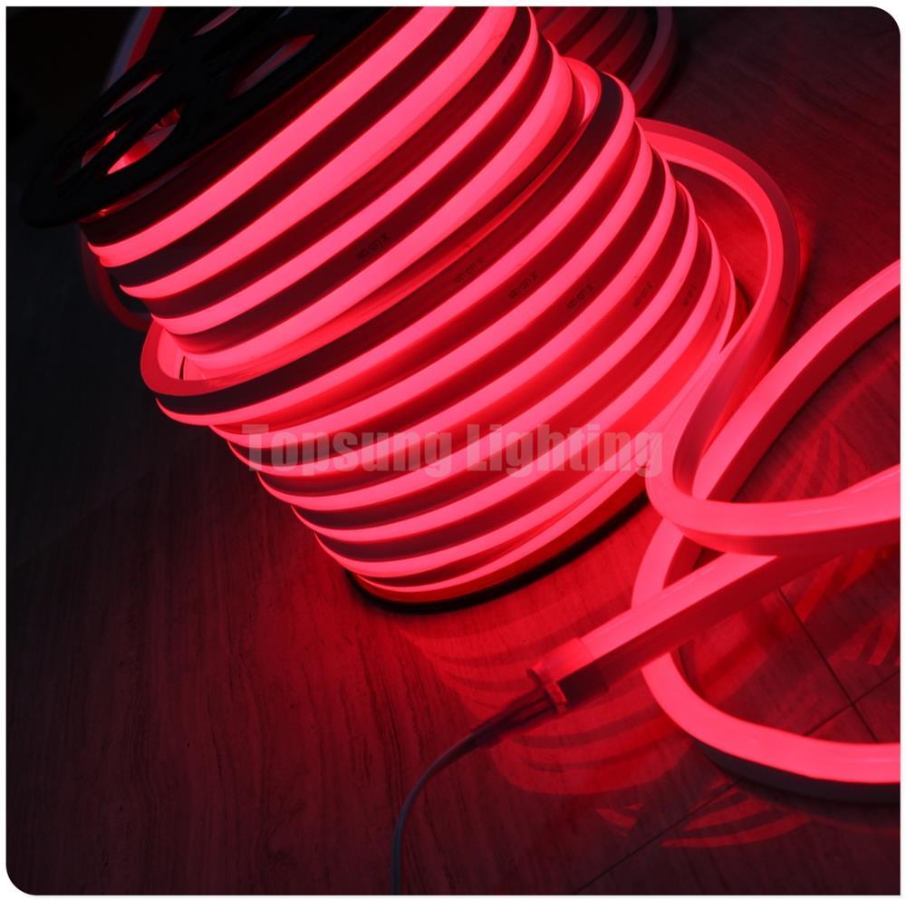 110 В красный испуская купол гибкий неон Веревка SMD мягкий светодиодные трубки внутреннего затемнения неоновый flex для продажи 120 В открытый в