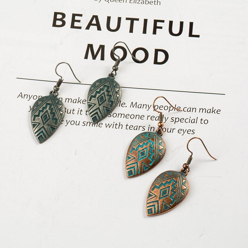 Boho Ethinic Dangle Drop Earrings Hanging for Women  3