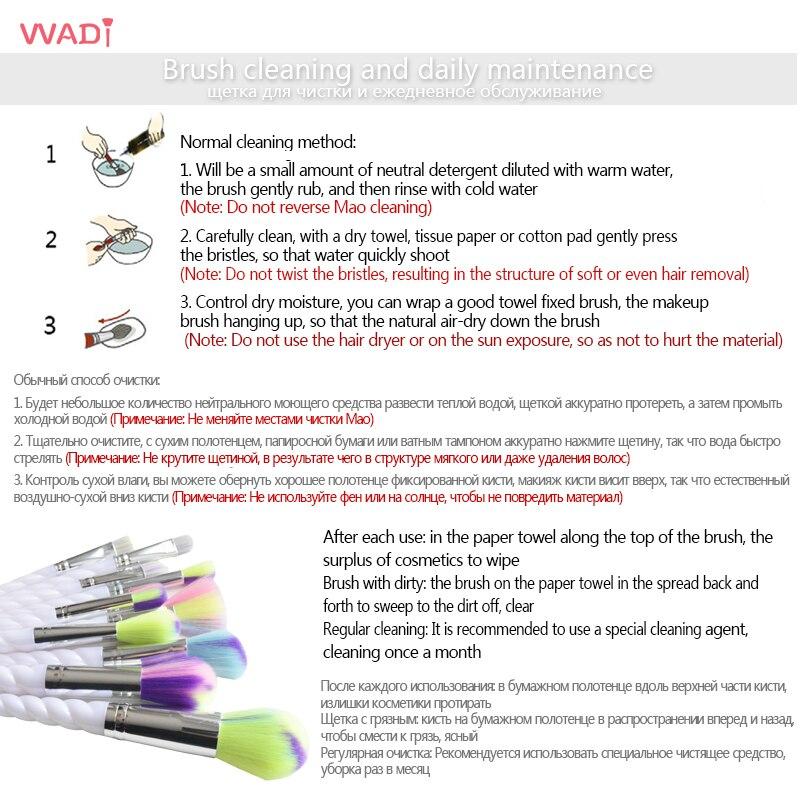 unicorn makeup brushes uses. 10 pcs unicorn blush brush eye shadow powder brushes foundation makeup rainbow professional make up set kit-in \u0026 tools from uses h