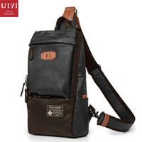 028ef5868f UIYI Brand Design PU Leather Handbag Men Single Crossbody Sling Messenger Bag  Chest Pack Bolsa Casual