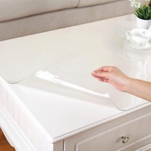 Wasserdichte Transparenz PVC Tischdecke für Party Hochzeit Home Küche Speise Tischset Pad 70*120*0,1/80*120*0,1/90*90*0,1 CM