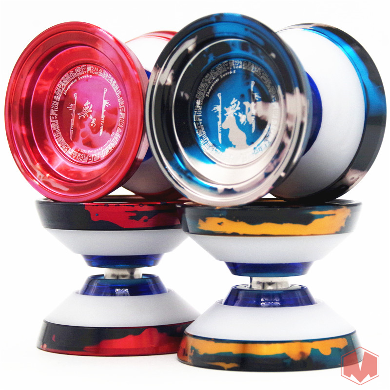 2018 New arrive TPK Shadowless Sword V5 yoyo metal plate Professional YOYO Competition New Technology Yoyo POM yo-yo ne yo ne yo libra scale