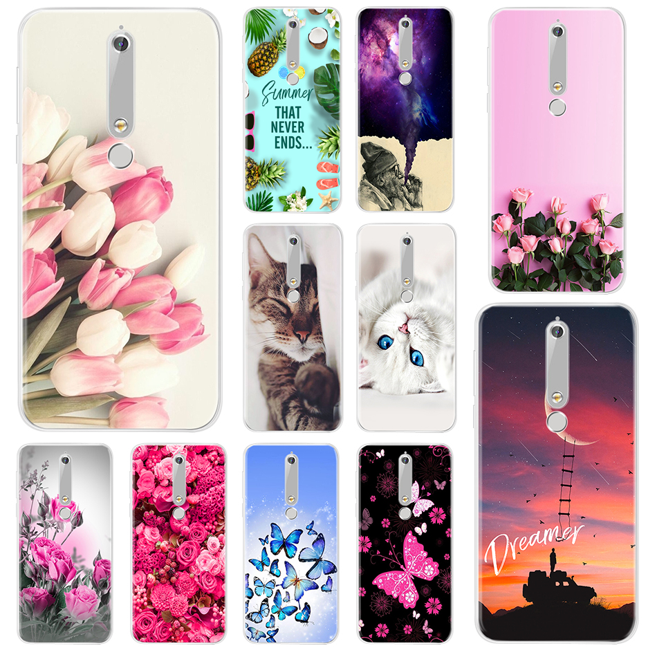 Fashion Soft Silicone Case <font><b>For</b></font> <font><b>Nokia</b></font> 2 3 5 6 2017 Nokia2 Nokia3 Nokia5 Nokia6 Phone Case <font><b>Cover</b></font> <font><b>For</b></font> <font><b>Nokia</b></font> 6 <font><b>2018</b></font> <font><b>2.1</b></font> 3.1 6.1 7.1 image