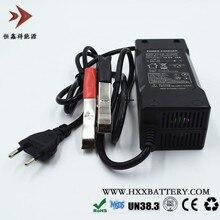 Выход 14,6 V 10A Lifepo4 зарядное устройство с вилкой ЕС зажимы зарядка DC переходник для двух держателей Вход 100-240 V 2A