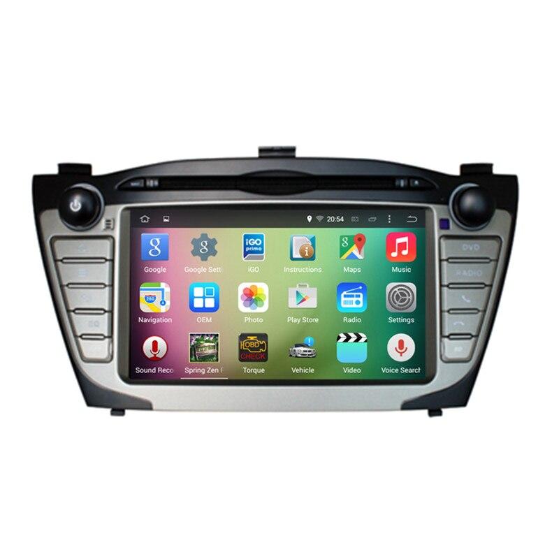7″ Android 5.1.1 Quad Core Car Stereo Audio Autoradio Head Unit Headunit for Hyundai IX35 2010 2011 2012 2013 2014 2015 3G DVR