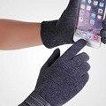 Новый Бренд Мужчины Сенсорные Перчатки Зимние Теплые Перчатки Мужчины Варежки Кнопка Телефон Сенсорный Экран Guantes Человек Сенсорный экран Перчатки, Варежки