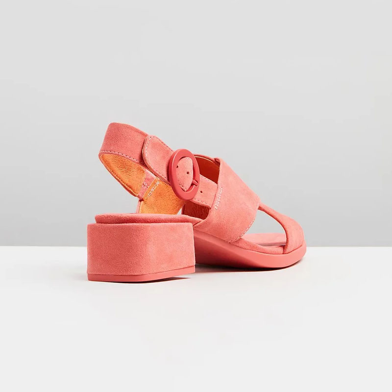Mode Solide Pour Ty01 Med Mûr 2019 Carrés Rouge wrap D'âge Boucle Chaussures Femme Élégant Talons Cheville Slingbacks aIqP4xn