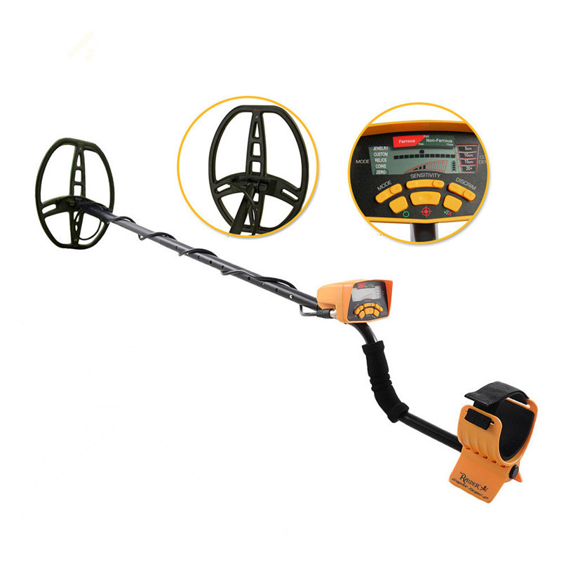 Professional Metal Detector High Performance Underground Metal Detector MD6350 Five Detect Modes Coins Jewelry Custom All Metal