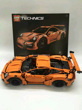 2016 new Compatible With legoe 42056 lepin 20001 technic series 911 GT3 RS Model Building Kits Minifigures   Blocks Bricks Toys
