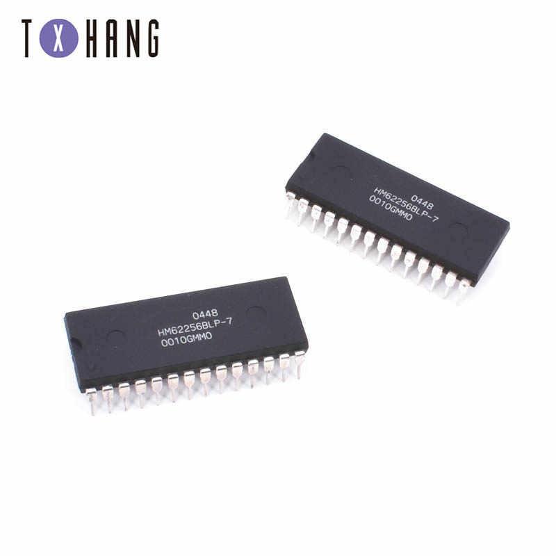 1 قطعة HM62256BLP-7 HM62256BLP-7 HM62256 HM62256BLP HM62256B 62256 DIP-28 في المخزون