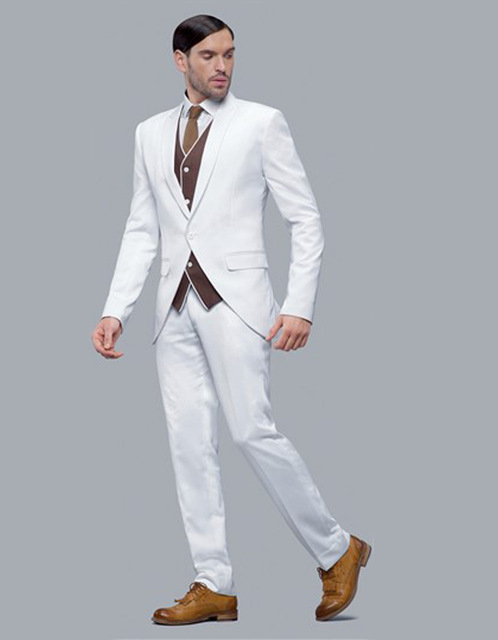 இFashionable Men\'s Dinner Party Prom Suits Groom Tuxedos Groomsmen ...