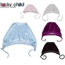 Чепчик велюровый Lucky Child для девочек и мальчиков, 1шт [сделано в России, доставка от 2-х дней]