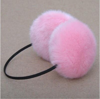 Free shipping 1 PCS Fashion warm rabbit fur earmuffs
