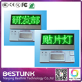 Зеленый светодиод имя знак карты, низкая цена led имя тега, электронные СВЕТОДИОДНЫЕ мини-знак экран, доска дисплей, led diy комплекты