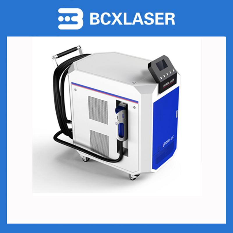 Metal, Rubber, Plastic, Valuable Instrument Laser Cleaning Machine 200W for Rust, Paint, Oil, Dust Cleaning