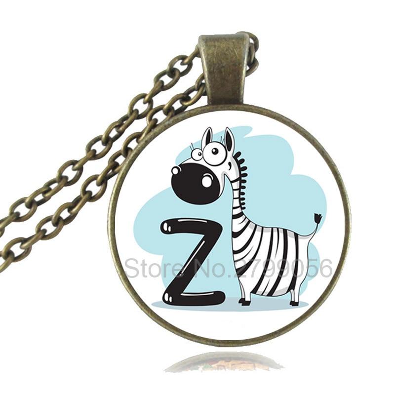 Zebra Collier Bijoux Zebra Zebra Pendentif Animal Cadeau Animal Bijoux africain