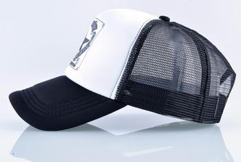 Fashion Trucker Hat For Men And Women Summer Mesh Baseball Cap Unisex Snapback Hip Hop Bone Mosculino Casquette Kpop Gorras 2