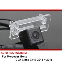 For Mercedes Benz MB CLA Class C117 13~15 Car Waterproof Night Vision reverse Rear View Reversing Backup Camera SONY