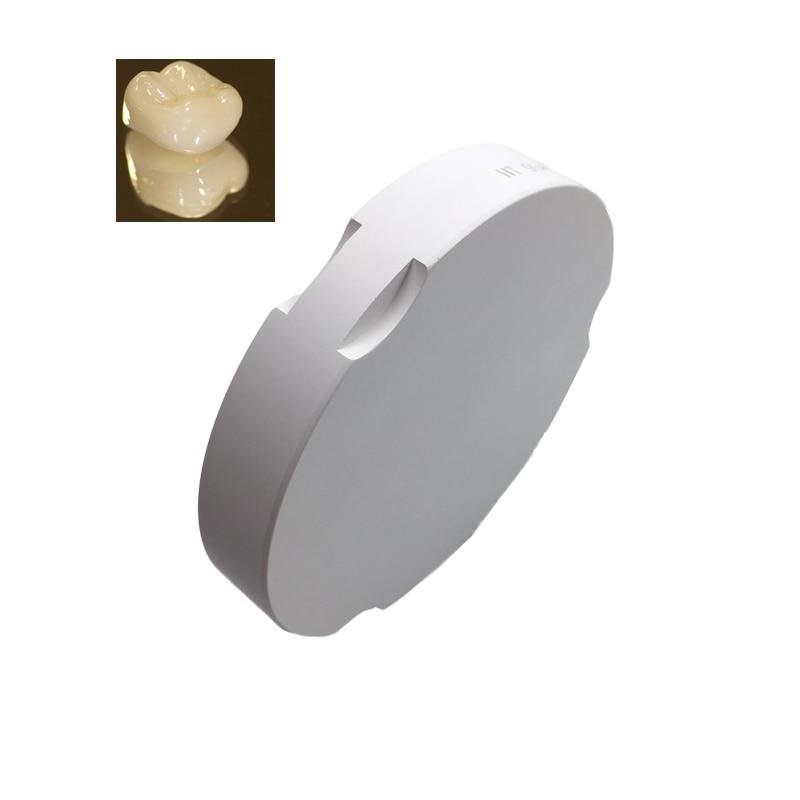 Matériel de technicien dentaire 6 PCS/lot ZirkonZahn système OD95 * 20mm HT ST blocs de disque de Zirconium dentaire pour système de fraisage CAD CAM