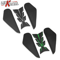 For Kawasaki NINJA400 NINJA 400 2018 2019 Motorcycle 3D Tank Pad Protector Side Bone Sticker Decal Gas Fuel Knee Grip Traction