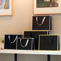 10PCS/lot Large Size Thickening Paper Shopping Bag Paper Gift Bag Carrier Bag