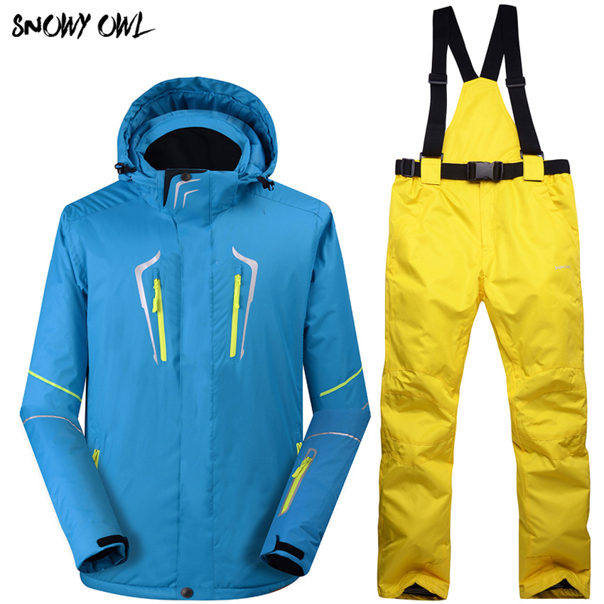 The New 2018 Man Ski Jacket+Pants Outdoor Wear Hiking Camping Riding Windproof Waterproof Ski Suit High Quality h315The New 2018 Man Ski Jacket+Pants Outdoor Wear Hiking Camping Riding Windproof Waterproof Ski Suit High Quality h315