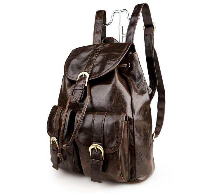 ФОТО Nesitu Vintage 100% Guarantee Real Genuine Leather Small Women Backpacks Cowhide Girl Backpack #M2011