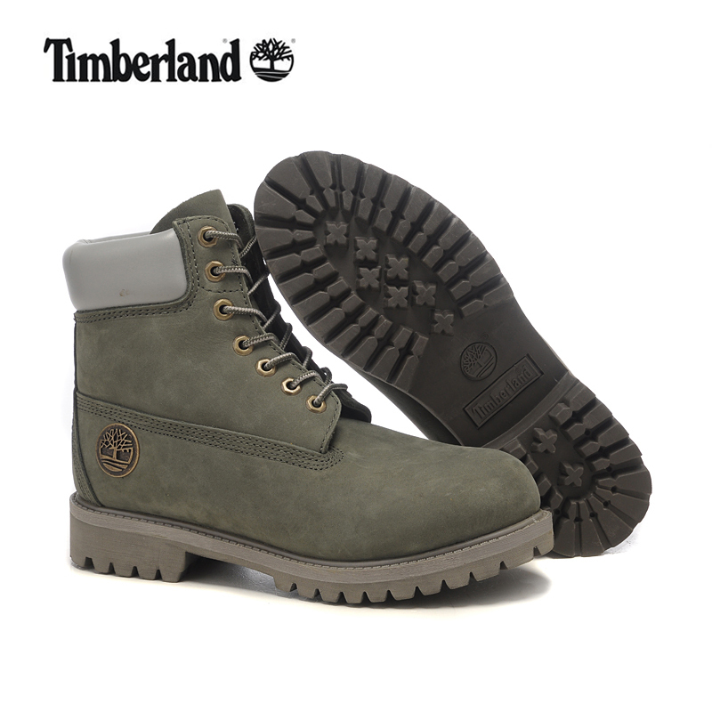 Original TIMBERLAND Classic Men 10061 Gray Premium Metal Motorcycle Ankle Boots,Man Genuine Leather Outdoor Timber Casual Shoes