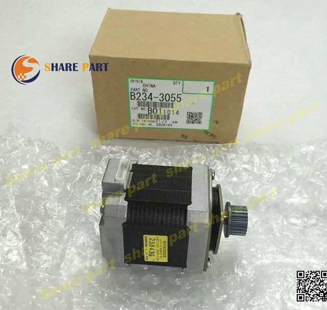 ФОТО 1X original new DC Stepper Motor for ricoh MP1350 MP9000 MP1100  B234-3055 DC Stepper Motor 12.6Volt - 12.6 Watt