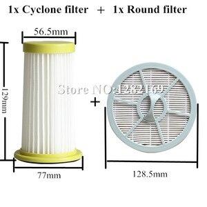 Image 1 - 1x Vacumm Reiniger Teile HEPA filter und 1x Runde Air Outlet Filter ersatz für Philips FC8260 FC8261 FC8262 FC8264