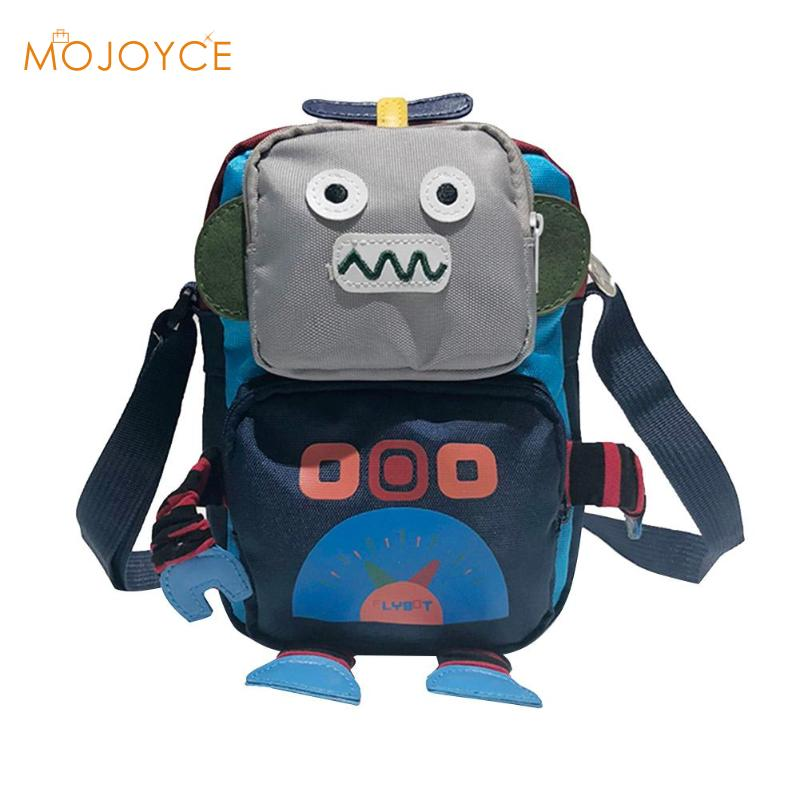 Messenger Bag Anese Personality Funny Robot Pattern Shoulder Bags Travel Party Cute Mobile Phone Crossbody Handbags 2018 New