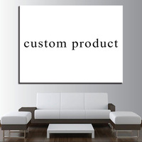 Home Decor Drop Shipping Custom Made 1 Panel Painting Living Room Canvas Poster Wall Art Frame