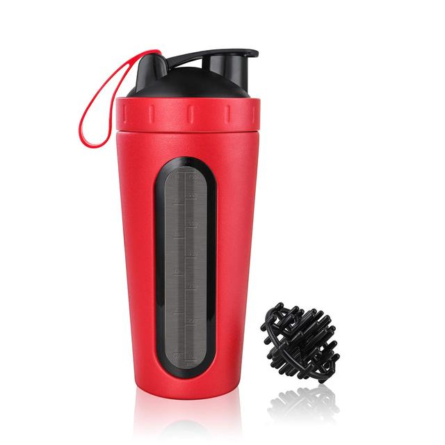 Stainless Steel Protein Shaker with Mixing Ball