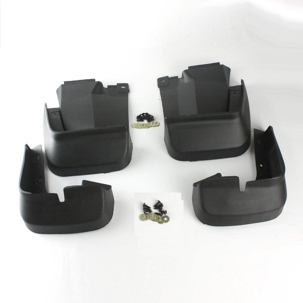 4pcs Mud Flap Mudguard Car Accessories Exterior Splash Protector For Honda Civic 2012 Front Rear Fender Cover Car Styling