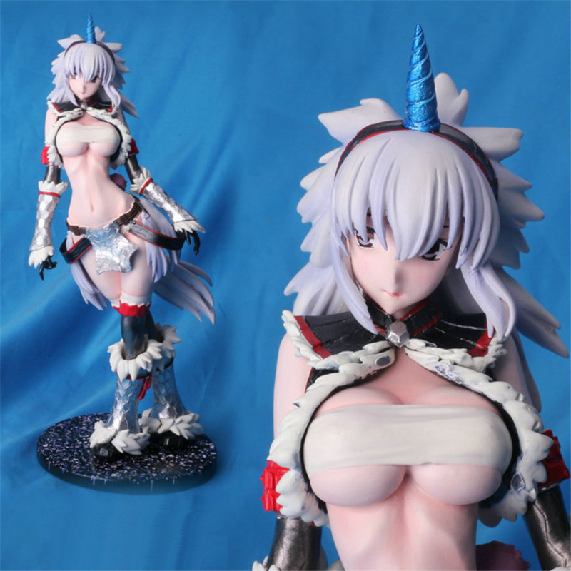 Anime Monster Hunter Unicorn attractive lady resin determine GK resin mannequin doll Motion Determine Collettion mannequin Toys brinquedos juguetes