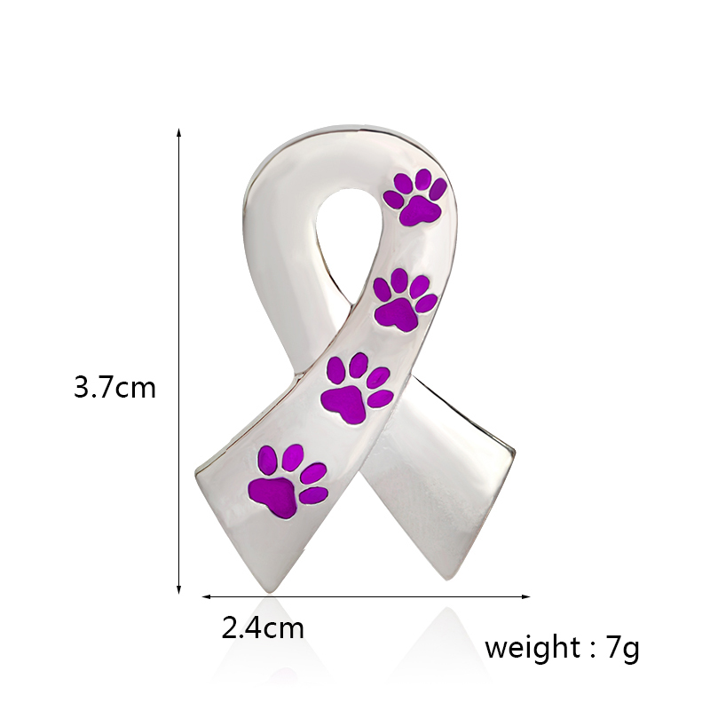 Miss-Zoe-Scarf-Shaped-with-Dog-Paws-Cat-Kitten-Brooch-Pins-for-Sweater-Pin-Badges-Gift