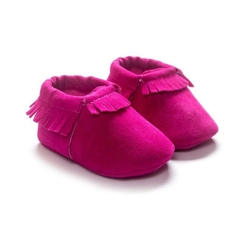 PU Suède Pasgeboren Baby Jongen Meisje Baby Mocassins Zachte Moccs - Baby schoentjes - Foto 3