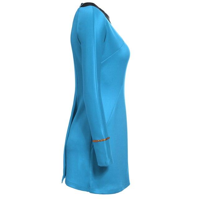 High Quality Star Trek Female Uniform Dress  Cosplay Costume  2