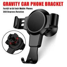 Car Phone Holder Universal Air Vent Gravity Mount Phone Holder For Phone X XR In Car Cell Phone Holder for Samsung S8 S9