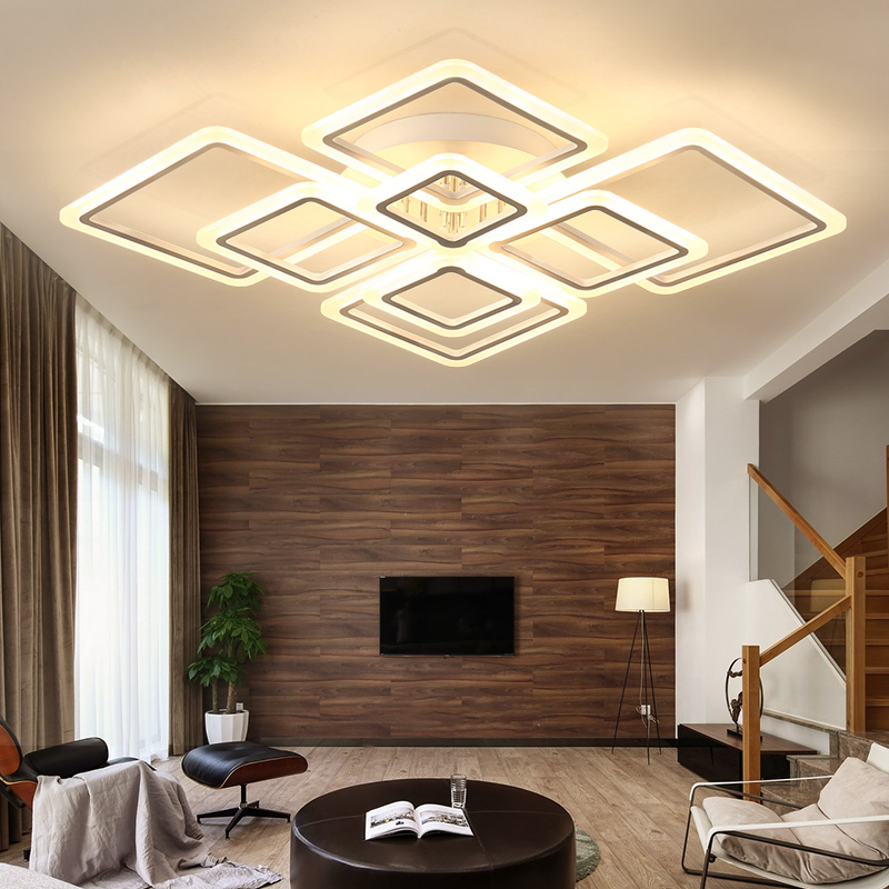 NEW led Ceiling Lights For Livingroom Bedroom luminaria abajur Indoor Lights Fixture Ceiling Lamp For Home Decorative Lampshade цена