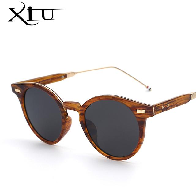 Okrągłe Okulary Przeciwsłoneczne Vintage Składane