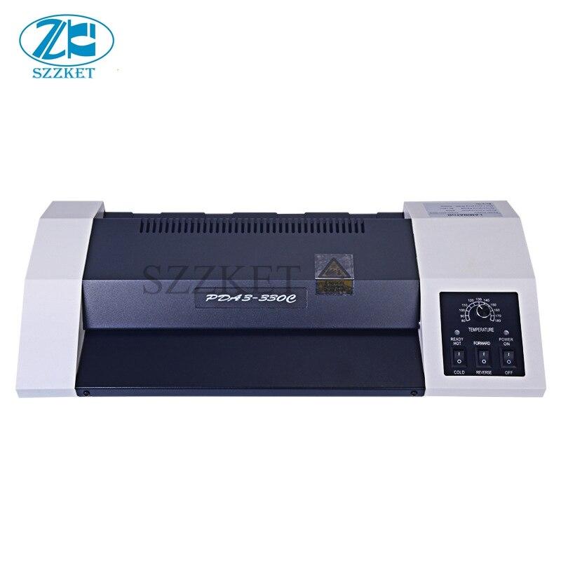 A3 fichier photo collage machine A4 plastifieuse laminage à froid thermoplastique machine de moulage 80-180 Celsius température réglable