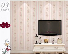 beibehang Pastoral non - woven wallpaper background warm and simple vertical striped wall paper papel de parede 3d wallpaper beibehang thick version of the vertical striped wallpaper warm living room bedroom pastoral non woven tv background wallpaper