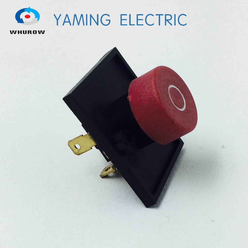 Electromagnetic switch 4 Pin On Off Momentary red Push Button Integrated switch Ignition switch 10A 300V YC01 ignition momentary press push button switch ycz4 a emergency stop 7 pin ip55 protective cover on off red green sign brass feet