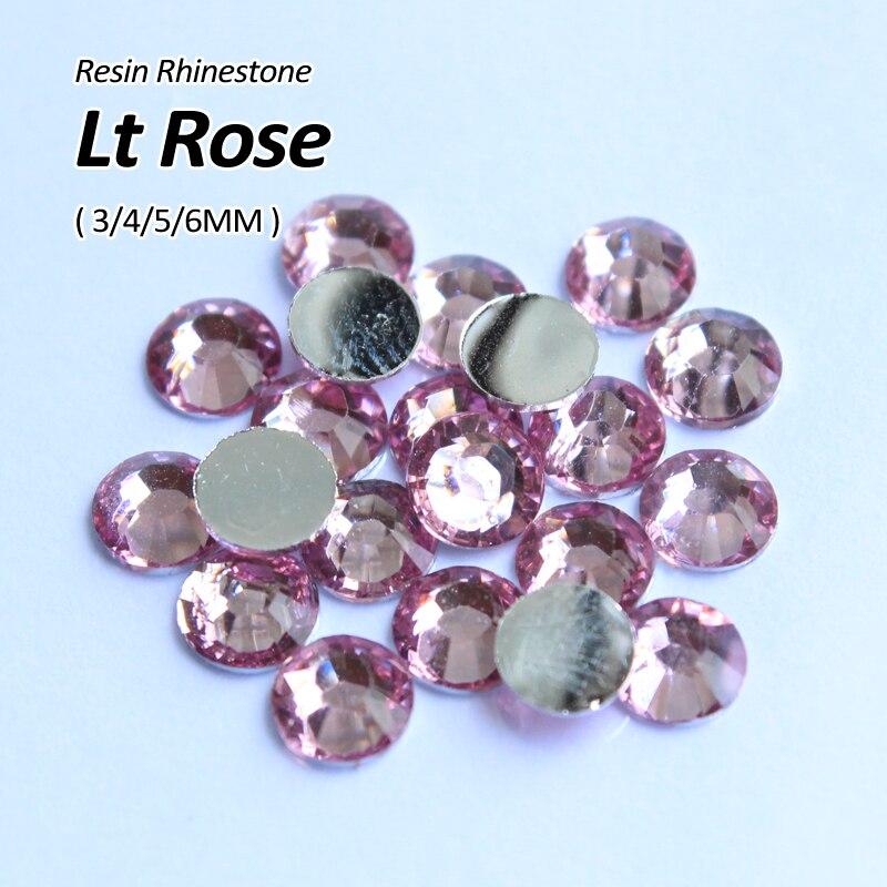 Top Fashion Limitée Sacs Vêtement Nail Art Chaussures Lt Rose Résine Strass  3mm 4mm 5mm 6mm Nail Art Utilisent Pour le Bricolage Accessoires c250edae06f